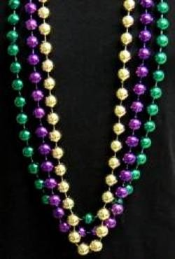 18mm 48 in Mardi Gras Beads